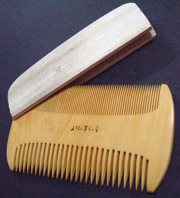 If you use the boxwood comb, your hair becomes very beautiful.